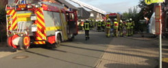Zimmerbrand im Dachstuhl, Eschstraße